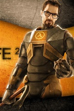 Preview iPhone wallpaper Half-Life 2 wide