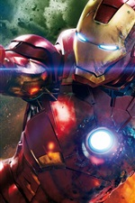 Preview iPhone wallpaper Iron Man movie HD