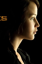 Preview iPhone wallpaper Jennifer Lawrence in The Hunger Games