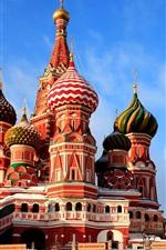 iPhone обои Москва Собор Василия Блаженного