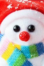 Preview iPhone wallpaper Snowman souvenir