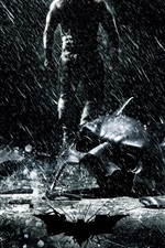 iPhone обои The Dark Knight восходит 2012