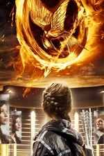 Preview iPhone wallpaper The Hunger Games 2012