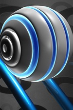미리보기 iPhone 배경 화면 3D 롤러코스터