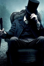 Preview iPhone wallpaper Abraham Lincoln: Vampire Hunter