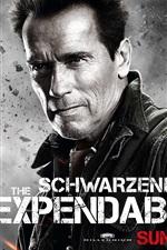 iPhone обои Арнольд Шварценеггер в Неудержимые 2 фильма HD