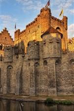 Belgium castle moat