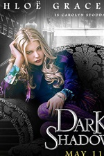 Preview iPhone wallpaper Chloe Moretz in Dark Shadows