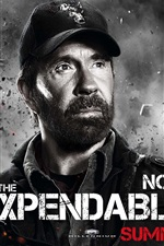 Preview iPhone wallpaper Chuck Norris in The Expendables 2