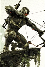 Preview iPhone wallpaper Crysis 3 HD game