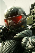 Preview iPhone wallpaper Crysis 3 game wide