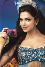 Preview iPhone wallpaper Deepika Padukone 02