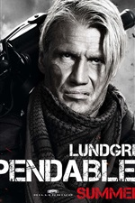 Preview iPhone wallpaper Dolph Lundgren in The Expendables 2
