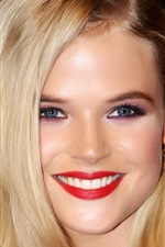 Preview iPhone wallpaper Gabriella Wilde 01