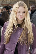 Preview iPhone wallpaper Gabriella Wilde 03
