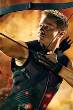 Preview iPhone wallpaper Hawkeye in The Avengers