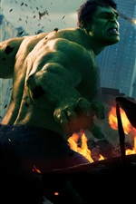 Preview iPhone wallpaper Hulk in The Avengers
