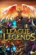 Preview iPhone wallpaper League of Legends wide