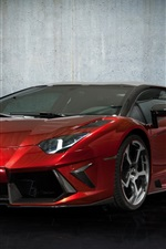 iPhone fondos de pantalla Mansory Lamborghini Aventador LP700-4 2012