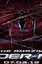Preview iPhone wallpaper The Amazing Spider-Man 2012 wide