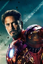 Preview iPhone wallpaper The Avengers 2012 Iron Man