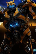 Vorschau des iPhone Hintergrundbilder Transformers Bumblebee