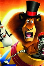 Preview iPhone wallpaper 2012 Madagascar 3: Europe's Most Wanted