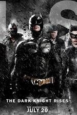 Vorschau des iPhone Hintergrundbilder 2012 The Dark Knight Rises