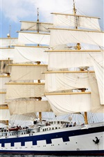A large sailing