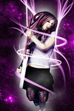Preview iPhone wallpaper Avril Lavigne 25