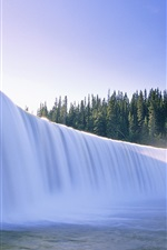 Preview iPhone wallpaper Canada's beauty, waterfalls