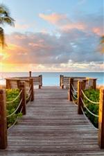 Caribbean beaches Turks and Caicos sunset