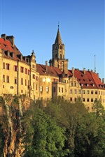 iPhone обои Замок в Германии