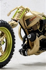 Preview iPhone wallpaper Customizing Motorcycle