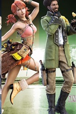 Preview iPhone wallpaper Final Fantasy XIII game wide