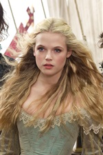 Preview iPhone wallpaper Gabriella Wilde in The Three Musketeers 2012