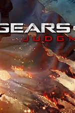 Preview iPhone wallpaper Gears of War: Judgment