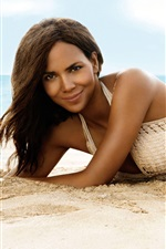 Preview iPhone wallpaper Halle Berry 02