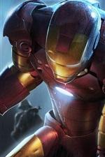 Vorschau des iPhone Hintergrundbilder Iron Man