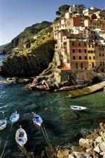 Preview iPhone wallpaper Italy Riomaggiore