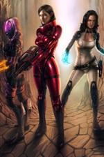 Preview iPhone wallpaper Mass Effect