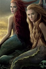 Preview iPhone wallpaper Mermaid in Pirates of the Caribbean HD