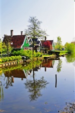 Preview iPhone wallpaper Netherlands Zaandam