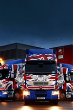 Preview iPhone wallpaper Renault trucks