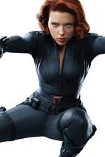 Scarlett Johansson in The Avengers 2012