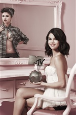 Preview iPhone wallpaper Selena Gomez 05
