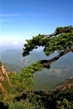 Steep mountain views