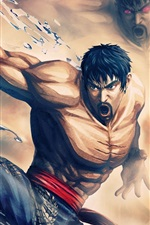 Preview iPhone wallpaper Street Fighter X Tekken