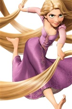 Preview iPhone wallpaper Tangled wide