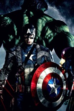 Preview iPhone wallpaper The Avengers 2012 movie
